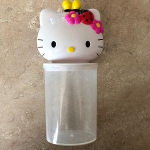 Sanrio Hello Kitty Container Holder Organize Decor